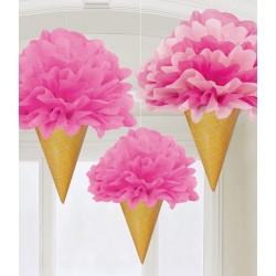 decoração ice cream cone