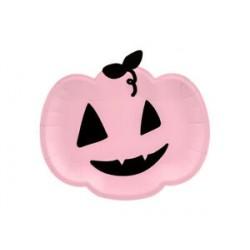 6 pratos pumpkin 25x22cm