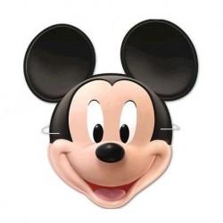 6 máscaras Mickey