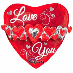 Balão Supersahape Love You...