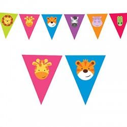 Bandeira Jungle Animals 4m