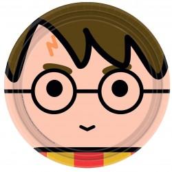 8 Pratos 23 cm Harry Potter