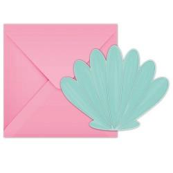 6 Convites Recortados -...