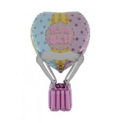 balão 3d baby girl