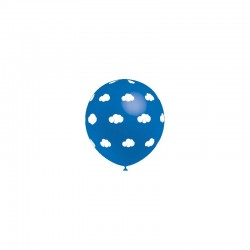balão 32cm impressos nuvens...