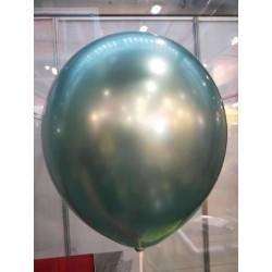 Balão verde metalizado