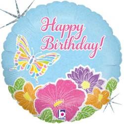 Balão hol 18 Happy Bday...