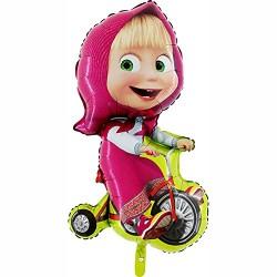 Balao Masha e bicicleta