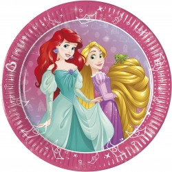9 pratos Princesas Disney...