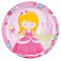 8 pratos 23 cm My Princess