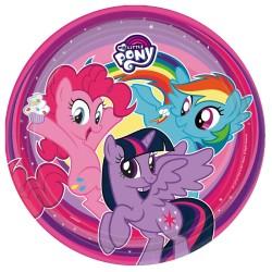 Pratos my little pony 23cm...