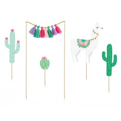 5 toppers Lama (9-20cm)