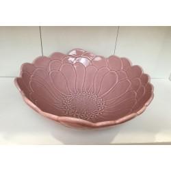 Taça flor rosa