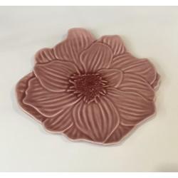 Prato flor rosa