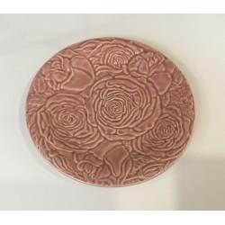 Prato flores rosa