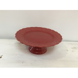 Prato pé vermelho (aluguer)