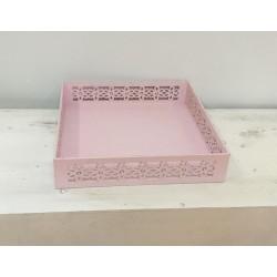 Tabuleiro madeira rosa