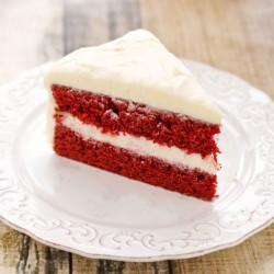 Satin Cake red Velvet