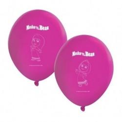 8 Balões Latex Masha e o Urso