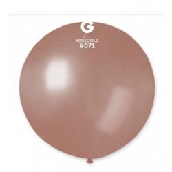 Balão 31 (80cm) rose gold