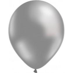 Balões Latex Metalizados Prata