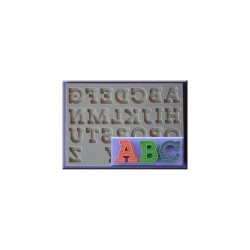 Molde Silicone - Alfabeto...