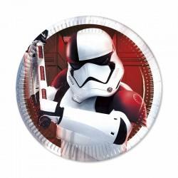 Pratos Metalicos Star Wars...