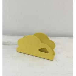 Porta guardanapos amarelo...