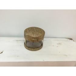 Caixa metal dourada (aluguer)