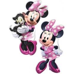 2 figuras Minnie para...