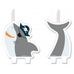 Conj. Vela 3D AHOY Tubarão
