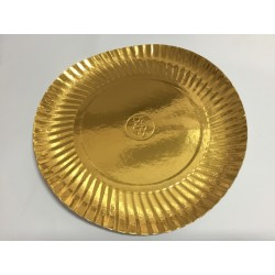 Prato Nº 6 27 cm Ouro