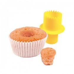 Cortador para rechear cupcakes