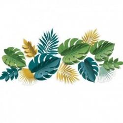 13 Folhas decorativas Key West