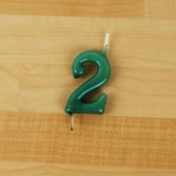 Vela 6cm N2 Verde