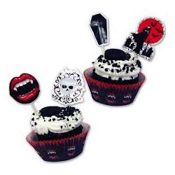24 formas cupcakes Halloween