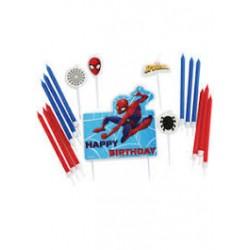 Kit Velas Spiderman