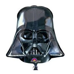 balão capacete darth vader