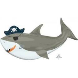 Balão Supser Shape Tubarão...