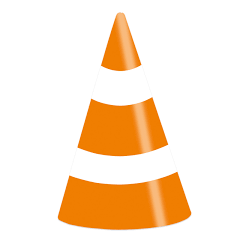 8 chapéus cone On the Road