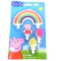 Set 4 Velas Peppa Pigs
