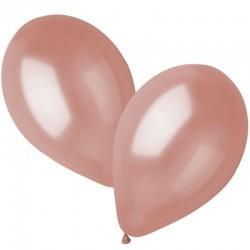 Balão metalizado rosa gold