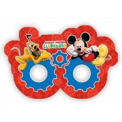 6 máscaras Mickey Plaiful