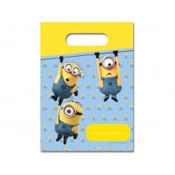 6 sacos Oferta Lovely Minions