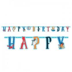 Bandeira Happy Birthday...
