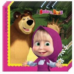 Guardanapos Masha & Bear