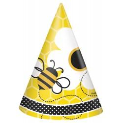 8 chapeus abelhas