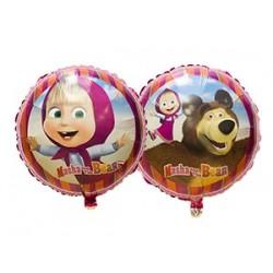 balão foil masha 18