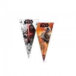 6 sacos cone star wars