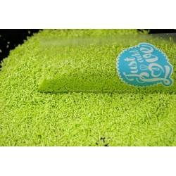 Granulado verde lima...